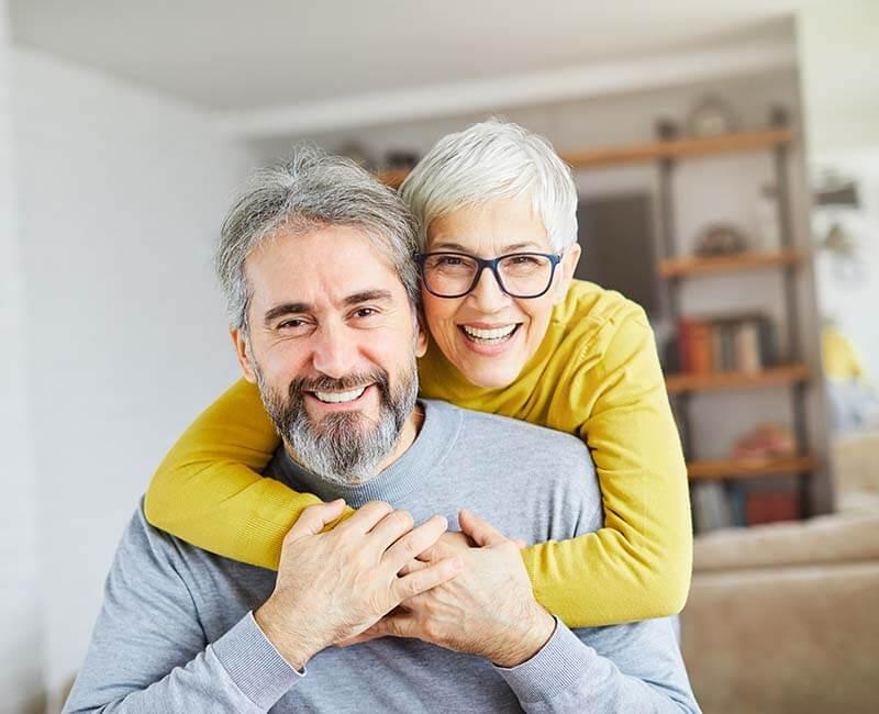 Rittenhouse Village At Michigan City Satisfied Couple