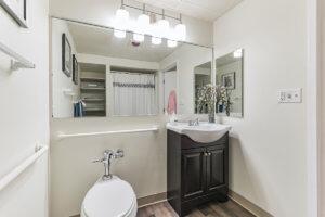 Personal Care Model Bathroom