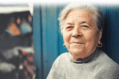 Smiling Rittenhouse Village At Portage Senior Living Resident