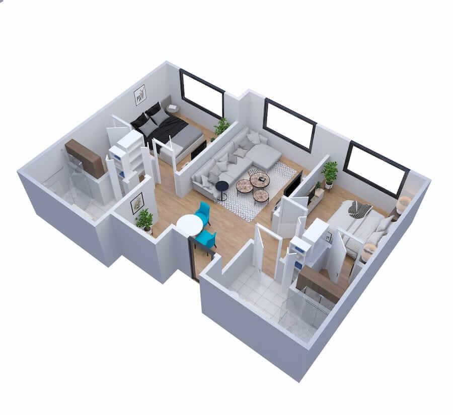 Estate Two Bedroom